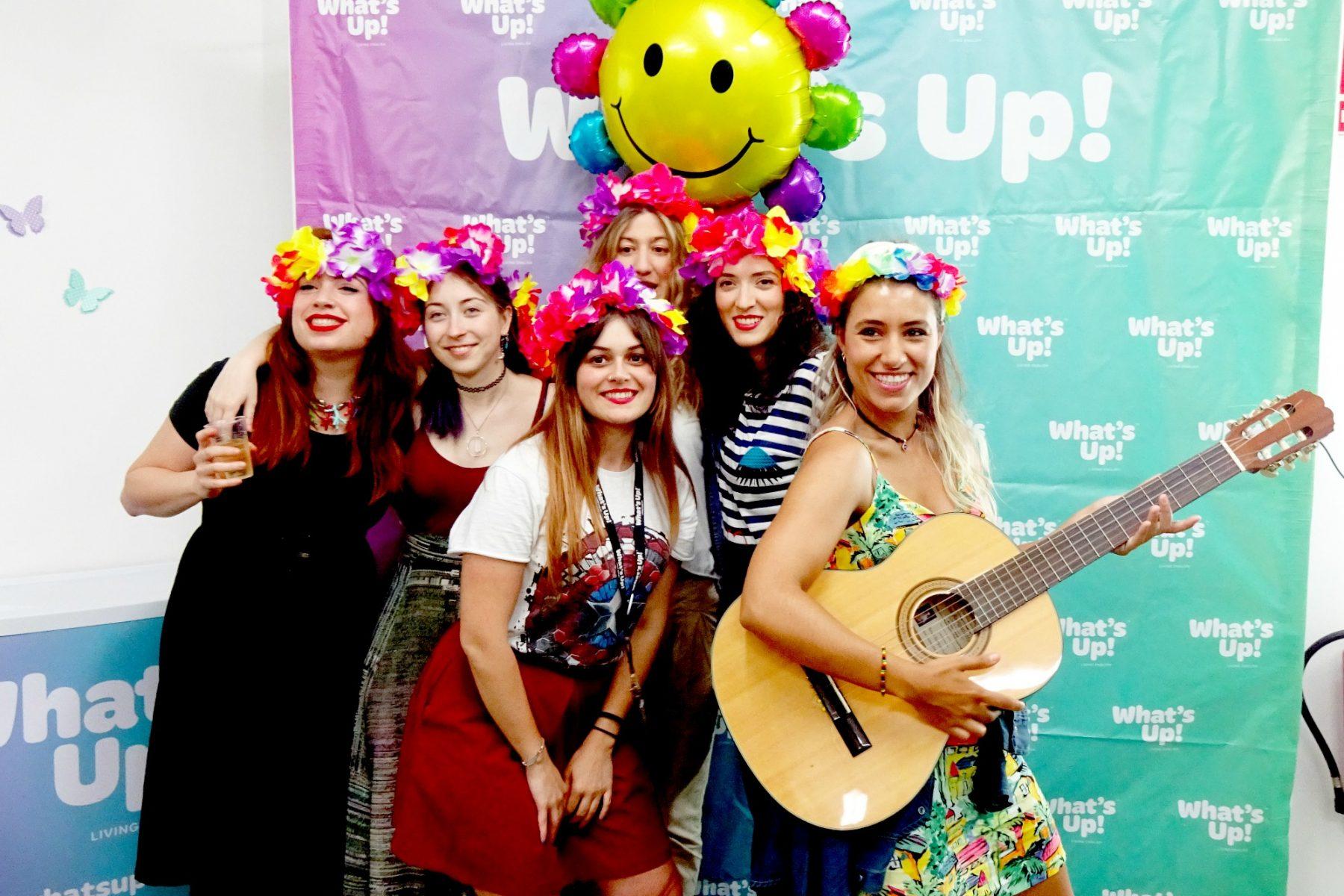 El photocall de la fiesta Summer Party de What's Up!