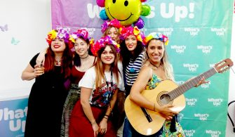 El photocall de la fiesta Summer Party de What's Up!