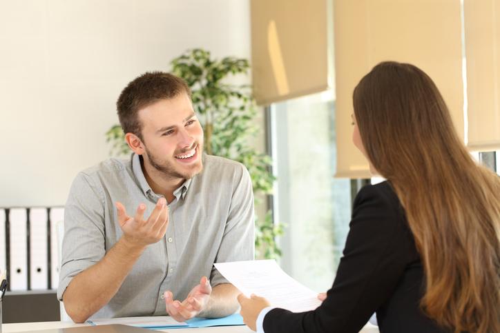 entrevista de trabajo en ingles dialogo